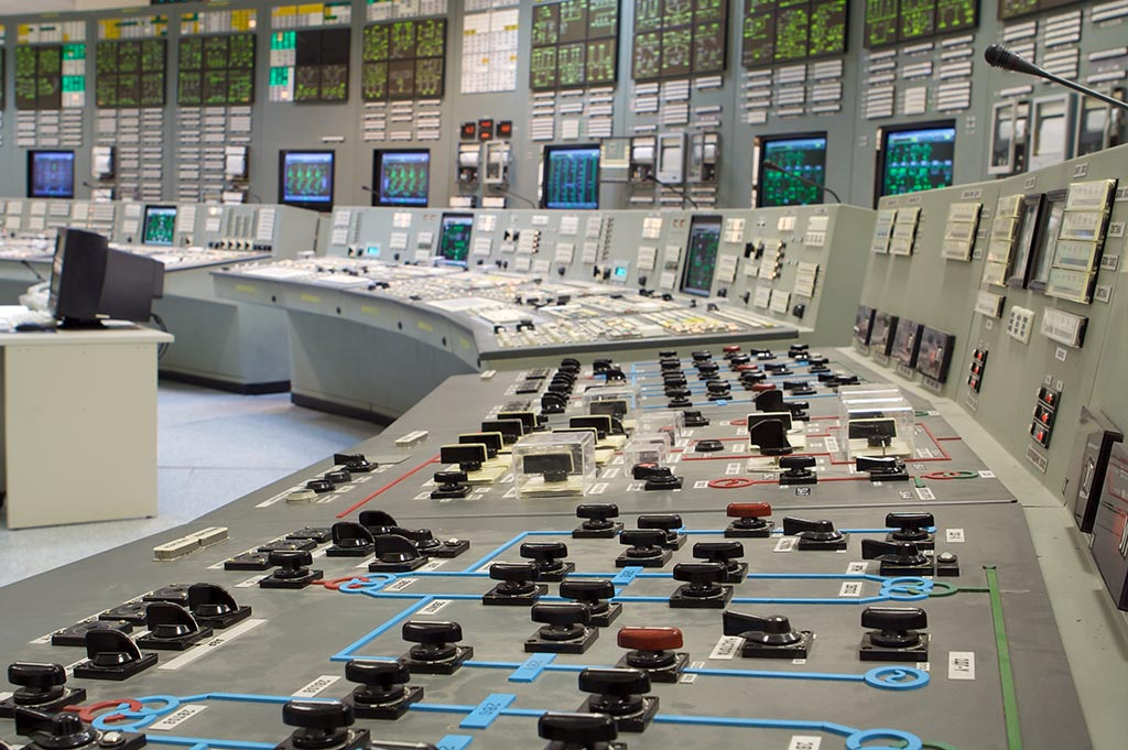 Control room - nuclear power plant