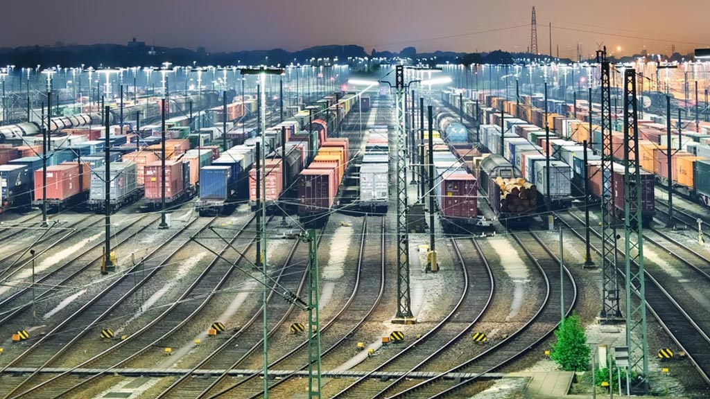 Rail freight specialists